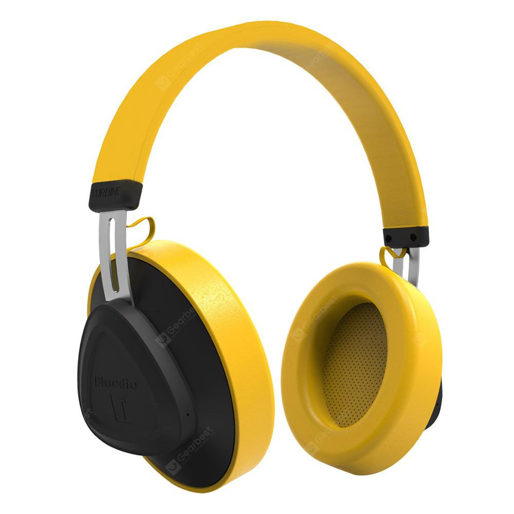 Bluedio TM Wireless Bluetooth Headset Stereo Headphone - YELLOW