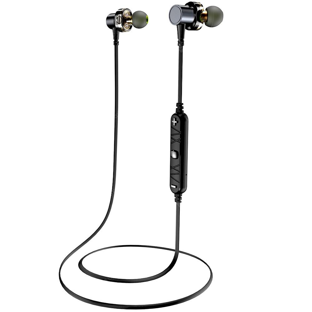 Awei X660BL Quad-core Necked Magnetic Bluetooth Earphone