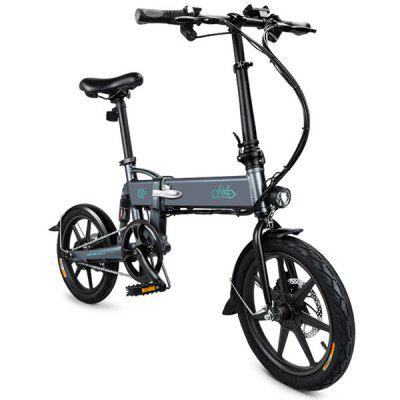 Gearbest $439 Only for FIIDO D2 Folding Moped Electric Bike E-bike - SLATE GRAY promotion