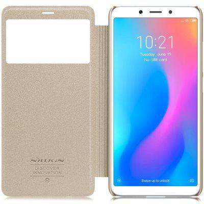 NILLKIN Flip Case Cover Protector Shield View Window Phone Stand for Xiaomi Redmi 6