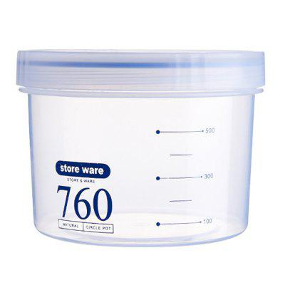 760ml Transparent PP Food Storage Jar for Kitchen attribute jar jar760 760ml