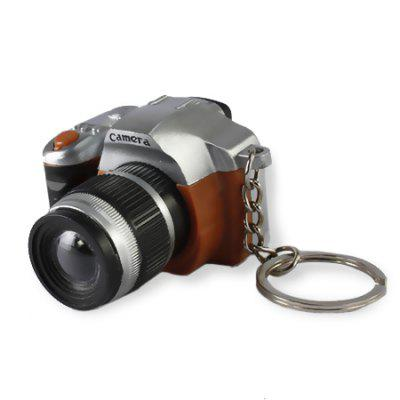 Mini Camera Lens Design Keychain