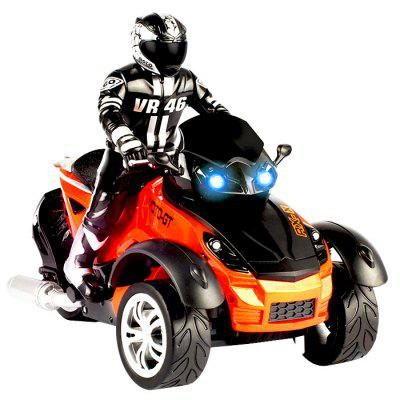 YD898 - T33 RC Beach Motorcycle Inverted 3-wheel RTR