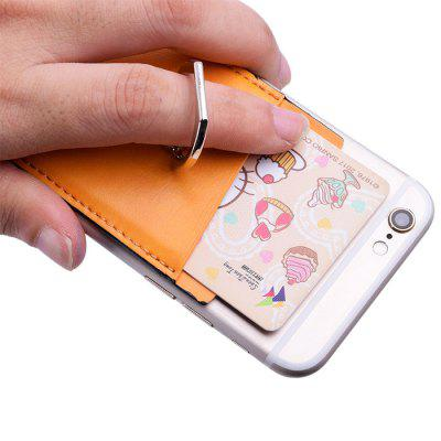 LEEHUR Phone Stand Holders Finger Ring Stand with Card Case