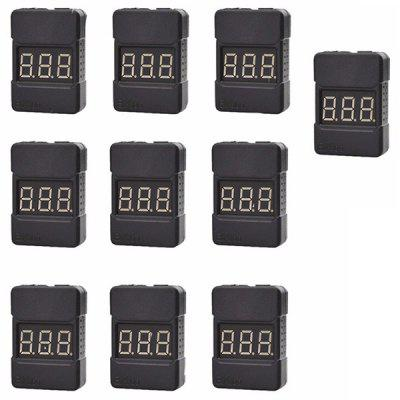 BX100 1 - 8S LiPo Low Voltage Buzzer Alarm 10pcs