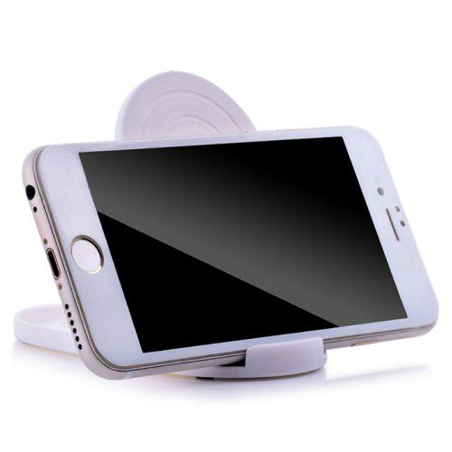 Mini Cellphone Tablet Stand Bracket - WHITE