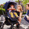 POUCH Fashion High Landscape Split Stroller - CADETBLUE