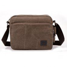 Jinqiaoer Contracted Canvas Crossbody Bag for Women