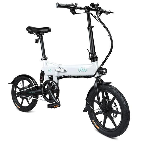 FIIDO D2 Folding Moped Electric Bike E-bike - CRYSTAL CREAM