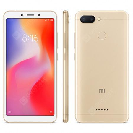 Xiaomi Redmi 6 - 4/64 GB - Global Version - Banda 20  (3 couleurs à choisir )