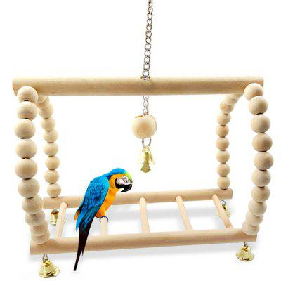 Parrot Swings Suspension Bridge Stairs Toys