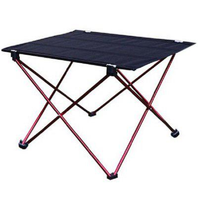 Outdoor Compact Folding Portable Table fireprofing board office folding table portable indoor outdoor picnic party camping center folding tables with 4 folding chairs