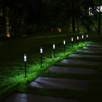 Stainless Steel Solar LED Light Garden Tube Lamp 10pcs free shipping 10pcs carton 1 2m 18w 36w led t5 single tube double tube light with shiled to replace 28w 36w traditional light