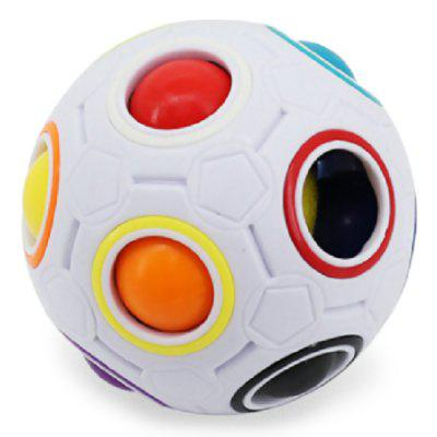Colorful Football Magic Cube