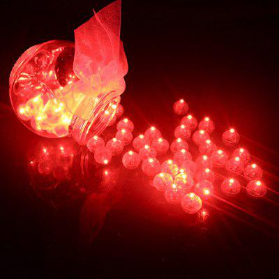 Ball LED Light Switch Flashing Decoration 20pcs free shipping 16 lot dmx 18x10w rgbw led par can light for stage decoration