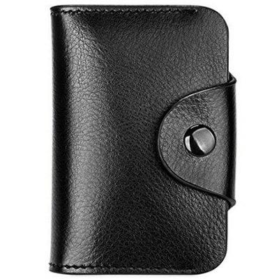 Soft Leather Anti-theft Card Holder
