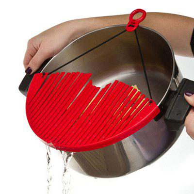 Expandable Kitchen Strainer Adjustable Draining Tool