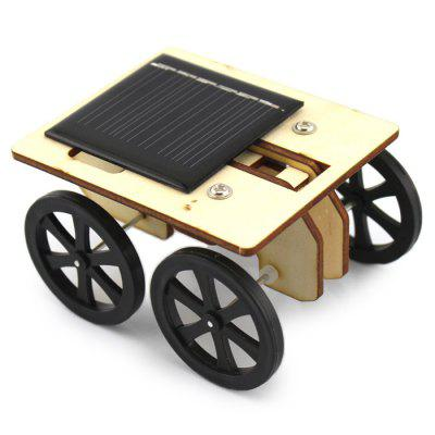 Educational DIY Solar Powered Car Toy for Children 6 in 1 solar power diy toy robots helicopter plane educational children gift