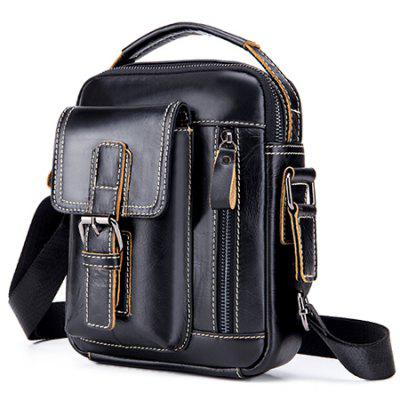 Retro Leisure Leather Shoulder Bag
