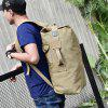 Outdoor Large Capacity Water-proof Canvas Backpack - WOOD