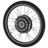 YUNZHILUN 24V - X iMortor 2.0 27.5 inch Front Electric Bike Wheel - BLACK