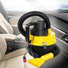 12V 120W Car Vacuum Cleaner Wet and Dry Auto Cleaning Tool - ŻółTY