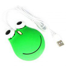 Maikou Cute Frog Wired Mouse