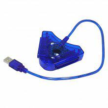 38cm USB Dual Controller to PC Computer Adapter Converter for PS2