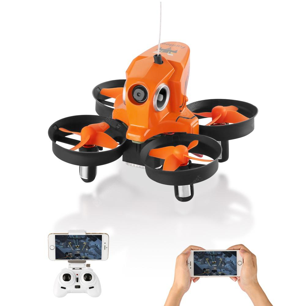 H801 720P 2.4GHz 4CH 6 Axis Gyro WiFi FPV Remote Control Quadcopter WiFi FPV - ORANGE STANDARD VERSION