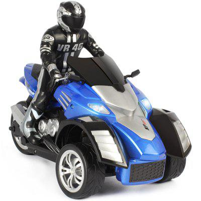YD898 - T34 RC Beach Motorcycle Inverted 3-wheel RTR