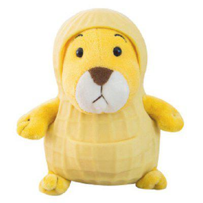 Peanut Mouse Doll Toy met Shell