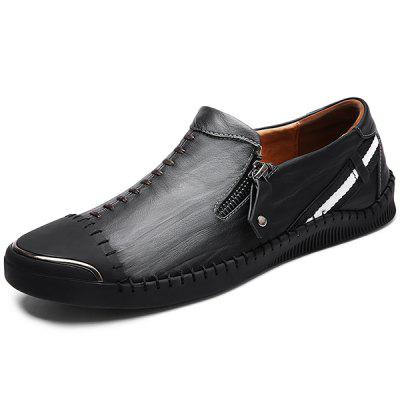 Leisure Soft Anti-slip Leather Loafer Shoes