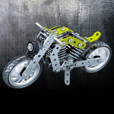 Stainless Steel  Motorcycle Building Blocks 158pcs