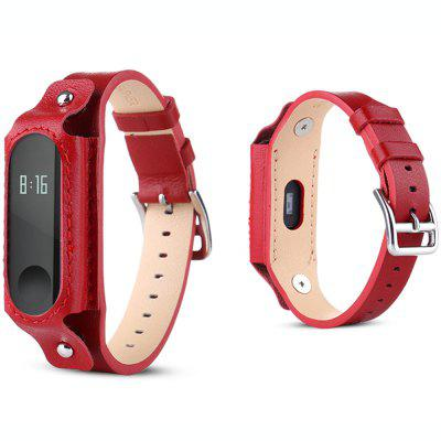 Vintage Leather Watch Strap Watchband for Xiaomi Mi Band 3 23mm handmade pink new high qaulity genuine alligator leather watch strap band for brand free shipping