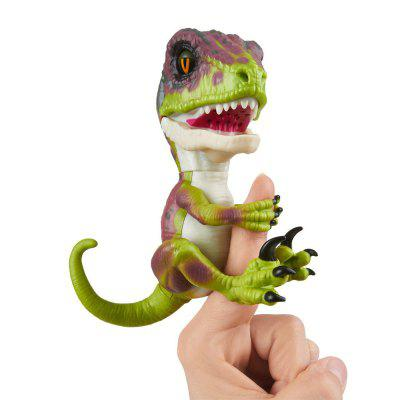 Trendy Creative Finger Dinosaur Model Toy creative simulation plush soft fox naruto toy polyethylene