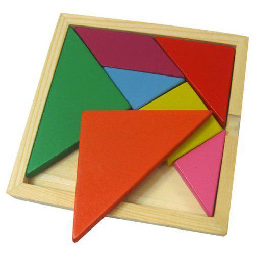 Colorful Tangram Educational Puzzle Toy Set