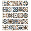 Creative Moroccan Style Wall Sticker for Kitchen Bedroom Living Room 5pcs - MULTI-A