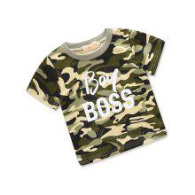 Cool Camouflage Short Sleeve T-shirt