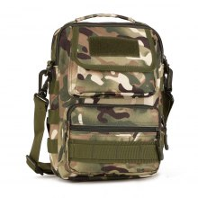 Protector Plus Mens Outdoor Nylon Crossbody Bag