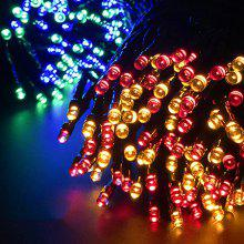 100 LED Christmas Solar Light String Festival Decoration