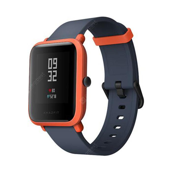Xiaomi Huami AMAZFIT Smart Watch Version Bip Lite - ORANGE VIF VERSION INTERNATIONALE