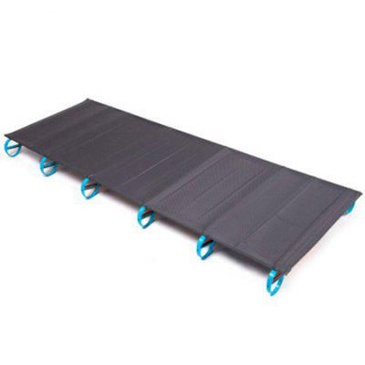 Campleader Portable Folding Aluminum Alloy Single Bed