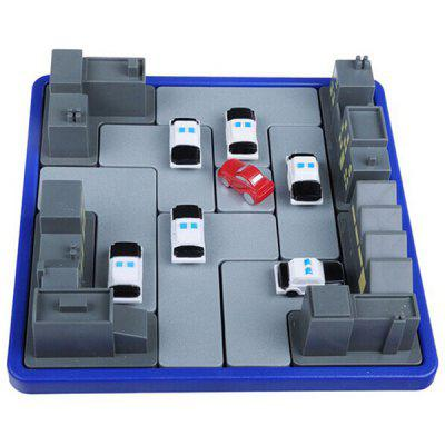 Cops Robber Puzzle Game Maze Toy for Children 1 piece baby wooden toys magnetic fishing game jigsaw puzzle board 3d jigsaw puzzle children education toy for children