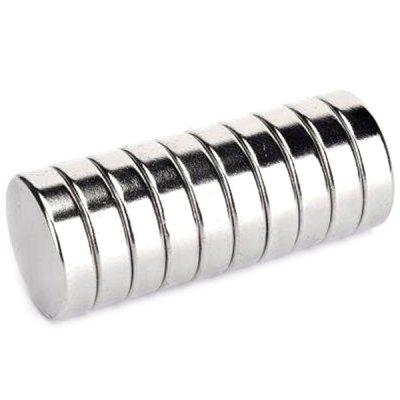 D10 x 5mm Round N42 NdFeB Magnet Fidget Toy 10pcs bore size 63mm 5mm stroke double action with magnet sda series pneumatic cylinder