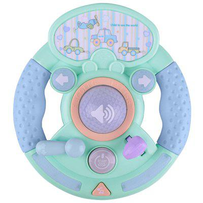 Baby Electronic Music Toy Simulation Car Steering Wheel