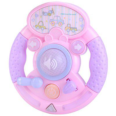Baby Electronic Music Toy Simulation Car Steering Wheel lovely big simulation fox toy polyethylene