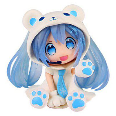 Bear Element Cartoon Toy Model