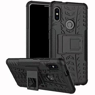 Protective Phone Case with Holder for Xiaomi Redmi Note 5