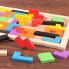 Intelligence Educational Toy Wooden Puzzle - MULTI