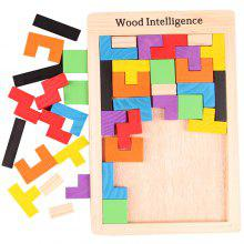 Intelligence Educational Toy Wooden Puzzle